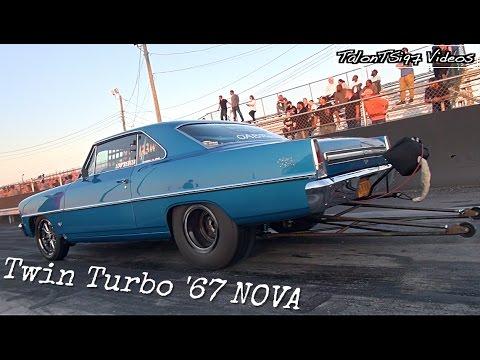 Beautiful Twin Turbo '67 Nova Hunting For 7s!