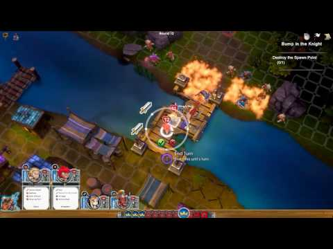 Super Dungeon Tactics Gameplay Walkthrough. mission #4, Bump In The Knight. Xtreme.