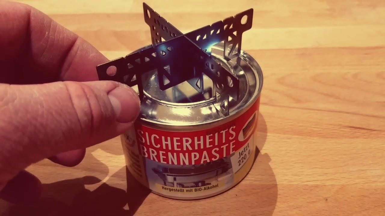 Florabest Holzkohlegrill Brennpaste : Kocher update brenn paste trangia evernew outdoorheinz youtube