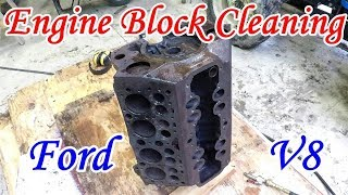 Cleaning an Engine Block at Home | Boat-tail Speedster Pt.14