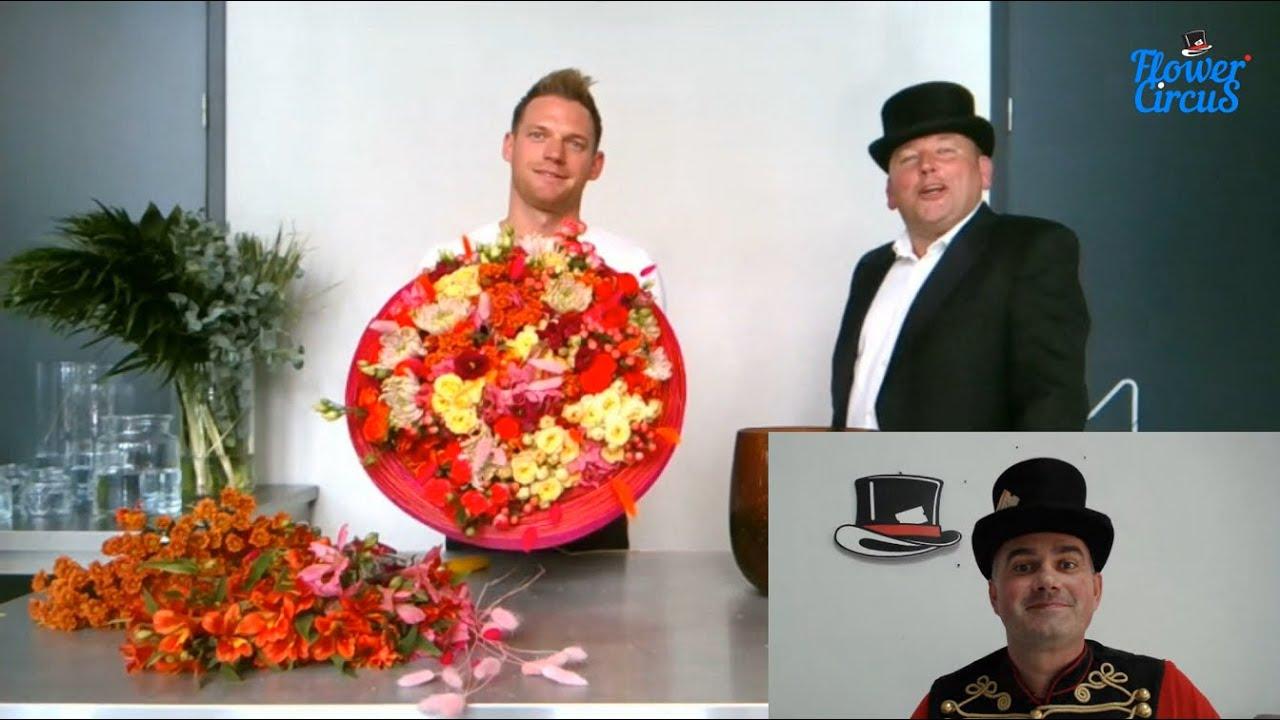 Indian Summer Arrangements by Stefan van Berlo: Flower Circus Online Show
