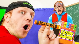 10 Ways To SNEAK CANDY Into CLASS!