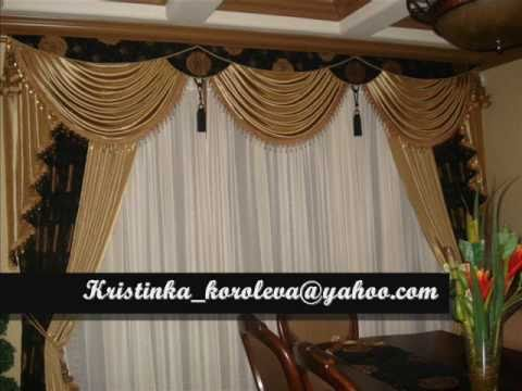 Beautiful Curtain Making By Kristina Koroleva Youtube