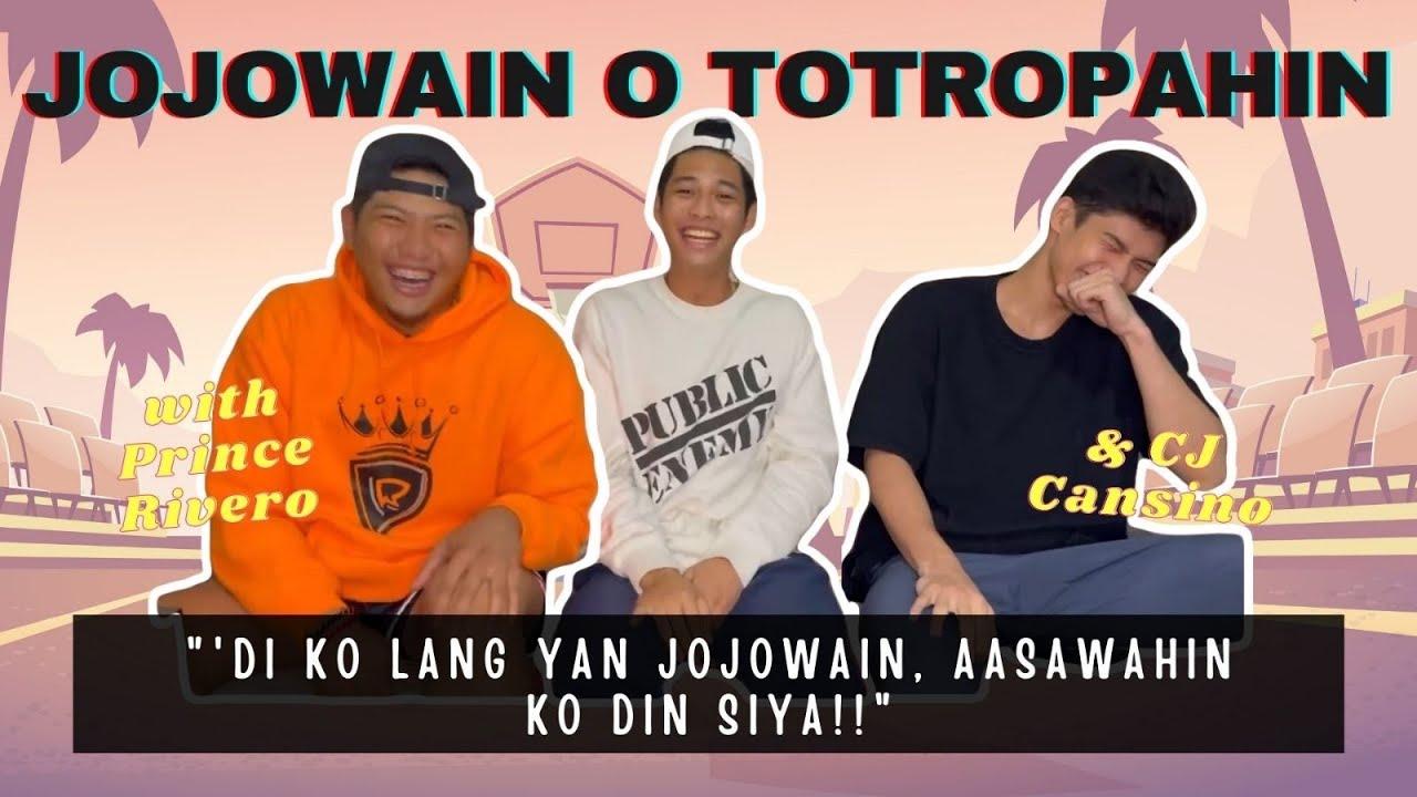 Totropahin o Jojowain with Kuya Prince Rivero & CJ Cansino | Ricci Rivero