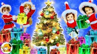 クリスマスパーティーでプレゼント探し❤︎ おうちの中で宝探しをするよ★ 可愛い小物ばかり❤︎