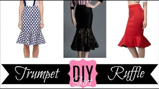 DIY Fit and Flare/Trumpet/Ruffle Skirt | Ty Kent
