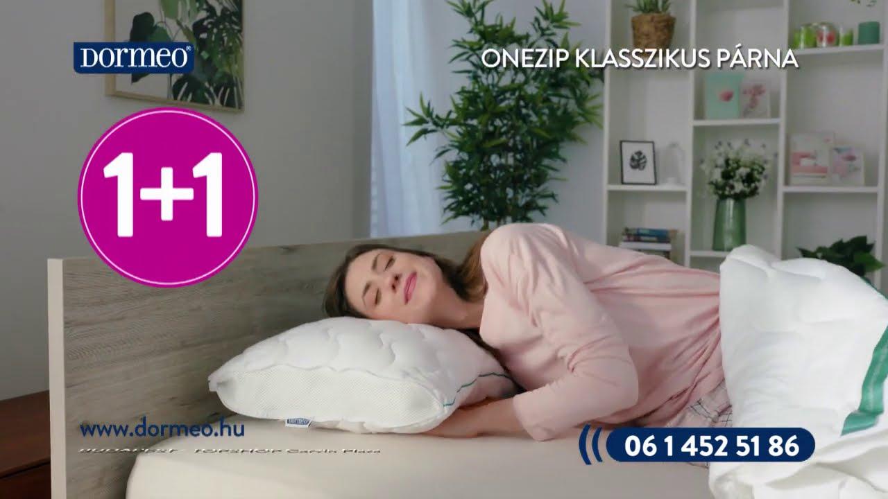 Dormeo Onezip klasszikus állítható párna