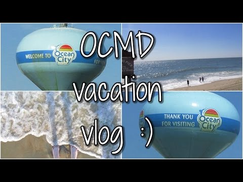 VLOGEND: Ocean City Maryland Family Vacation :)