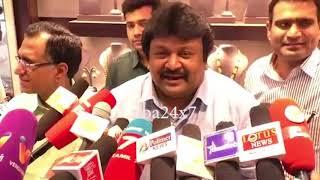 Actor Prabhu Supports Kamalhassan into Politics| nba 24x7