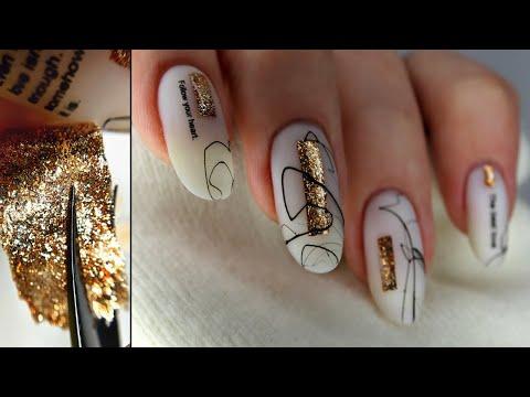 Наклейки для ногтей своими руками