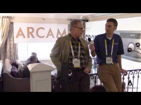 Arcam SR250 Stereo Networking A/V Receiver Preview CES 2016