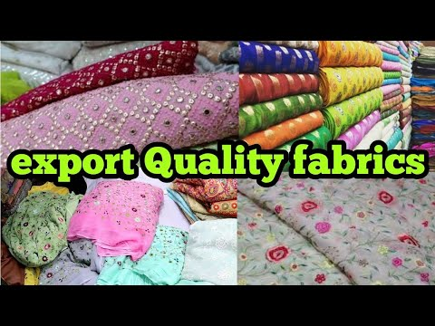 fabric market Chandni chowk | lehenga,gown,saree,frowk,kurta,dress,fabrics | export quality fabrics