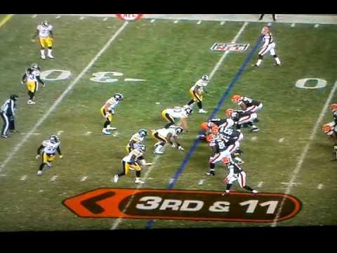 Alex Mack vs. Steelers