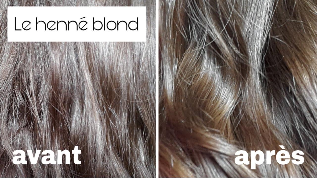Khadi blond moyen sur cheveux blancs