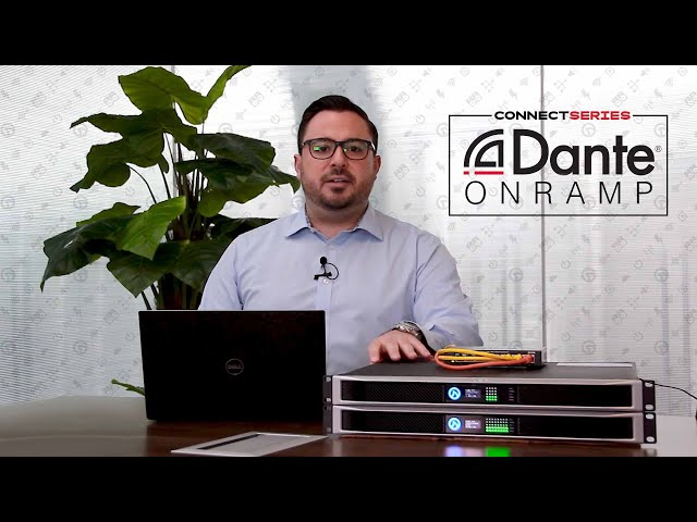 Dante Onramp: Using Dante To Share Analog Signals Between Amplifiers