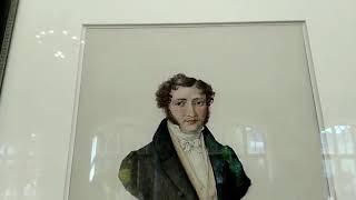 Выставка ''Лермонтов - художник'' в Нарзанной галерее.