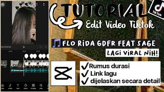 Tutorial edit video tiktok lagu flo ...