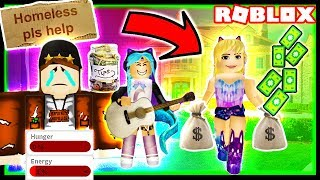 FROM POOR TO RICH | Poor vs Rich Roblox Social Experiment | Homeless to Rich Roblox Roleplay