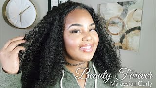 Best Frontal EVER!   Beauty Forever Malaysian Curly