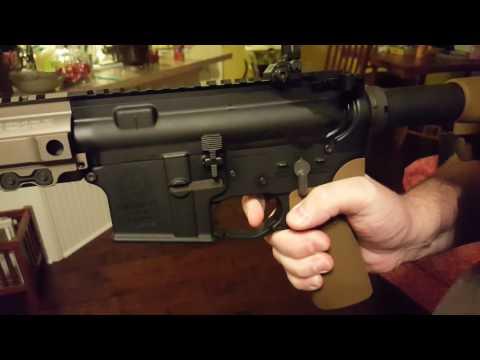 Sionics Nickel PTFE / NP3 enhanced milspec trigger