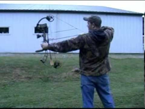 Hunting Practice, Shooting Your Bow In The Backyard The Correct Way!