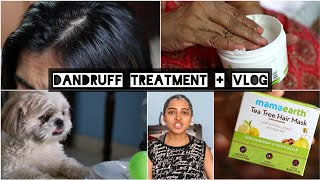 My Morning Vlog + Hair Mask With Tea Tree Oil For Dandruff Review +  | SuperWowStyle Prachi