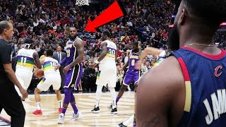 Why I'm Officially Giving Up Lebron James Courtside At Lakers Game