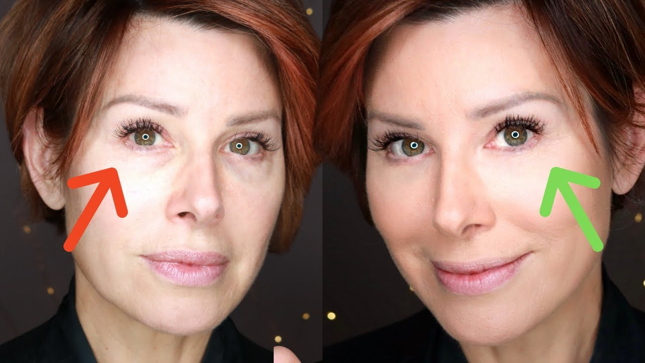 Before You Conceal Under Eye Bags & Circles, WATCH THIS | Dominique Sachse