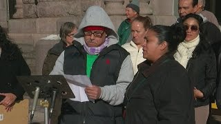 Group Protests Trumps, Low Wages Outside NE Mpls. Home Depot