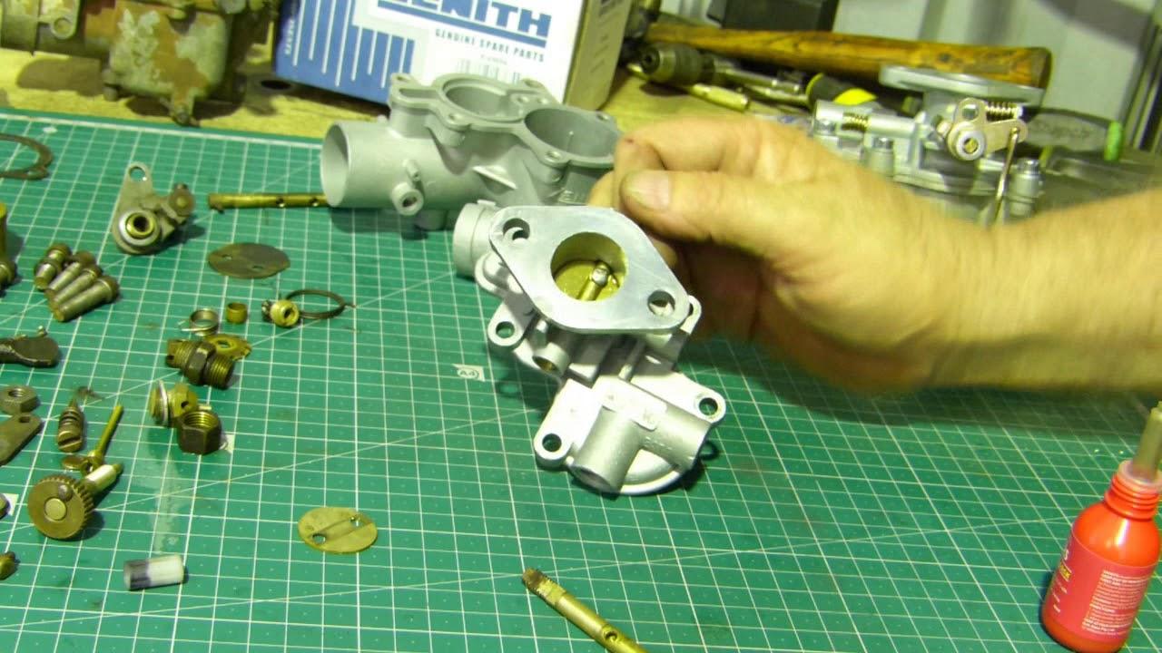 How to assemble a carburetor