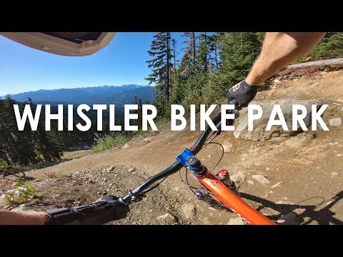 30 minutes of PERFECT CONDITIONS at the Whistler Bike Park | D1, Dirt Merchant etc. - GoPro Hero 6