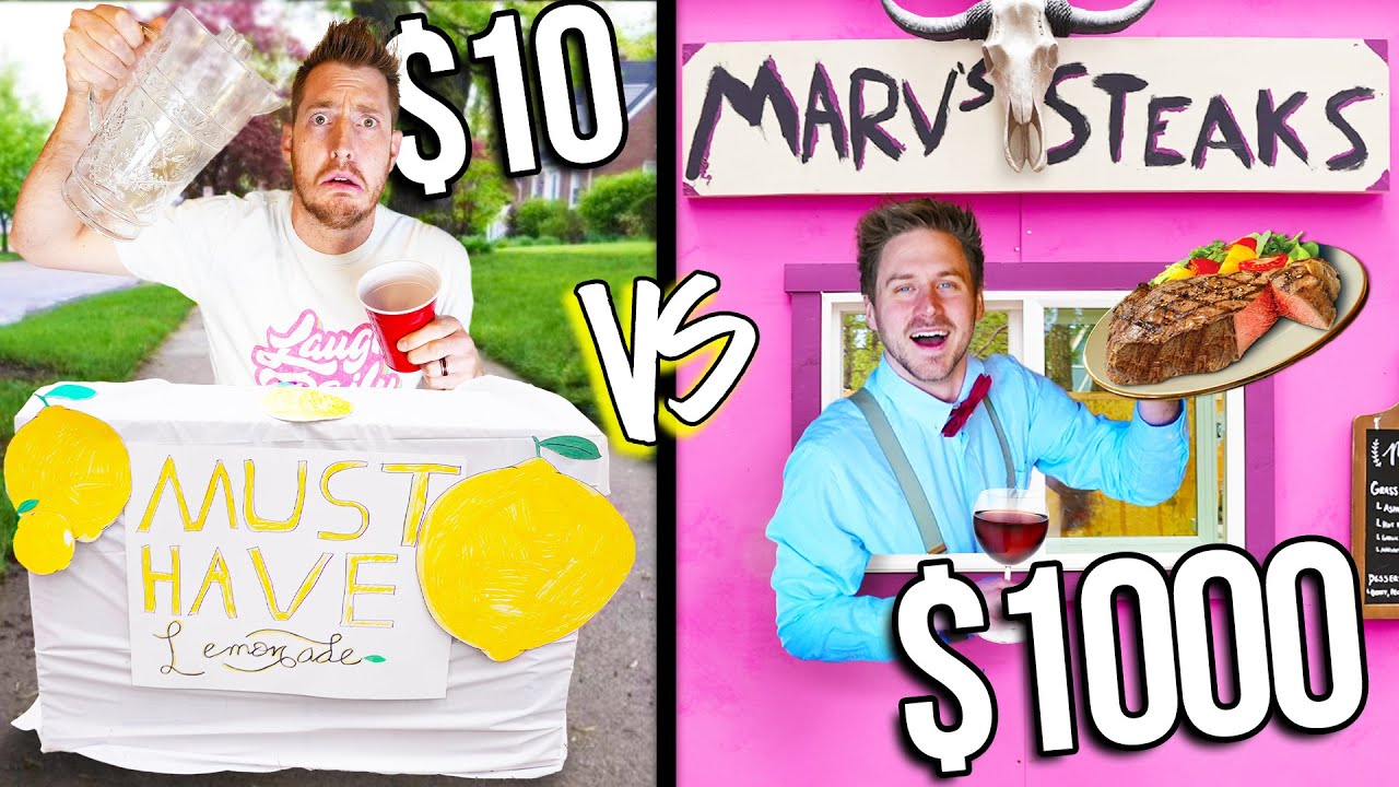 $10 VS $1,000 FAST FOOD DRIVE THRUS! *Budget Challenge*