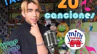 TAG 20 CANCIONES 🎤 MIN MANSE KPop Jpop Cpop