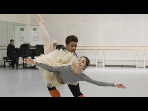 The Royal Ballet rehearse Don Quixote