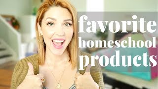 7 FAVORITE Homeschool Products + Supplies