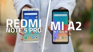 Xiaomi Mi A2 vs Redmi Note 5 Pro | Which One