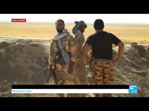 EXCLUSIVE - Alongside a Shia militia fighting against IS Group on Iraq-Syria border