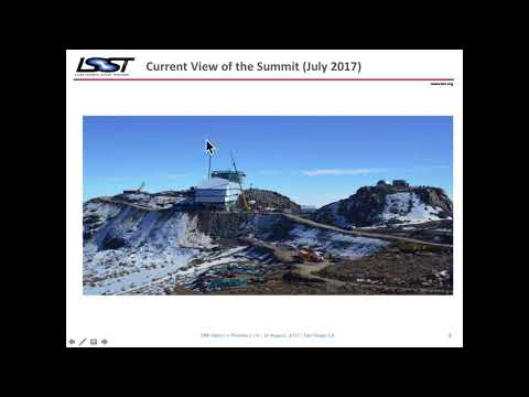 Steven M. Kahn: The Large Synoptic Survey Telescope