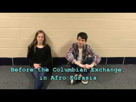 ap world history columbian exchange essay Ap® european history  analyze the effects of the columbian exchange ( the interchange of plants, animals, and diseases between the old world and the  new world) on the population and economy of europe in the period 1550 to  1700  essays scored 0 or 1 may attempt to address the question but fail to do  so.