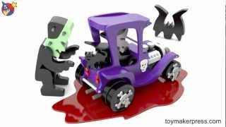 Wood Toy Plans - Dracula Toy Car