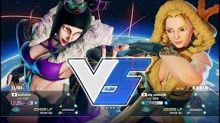 aiai (Juri) vs AFG (Karin):aiai(ジュリ)vs AFG(かりん)