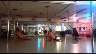 Meital Peer Pole Dance Sweetest Sin מיטל פאר