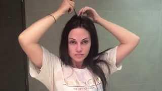 видео Блестящие гладкие волосы без утюжка