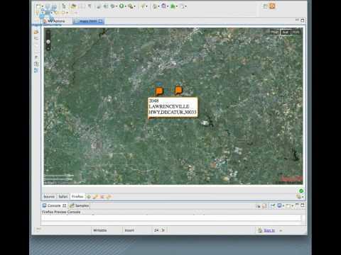 Yahoo Maps API