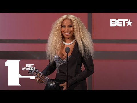 Adrian Long - Mary J. Blige Receives Lifetime Achievement Award! | BET Awards 2019