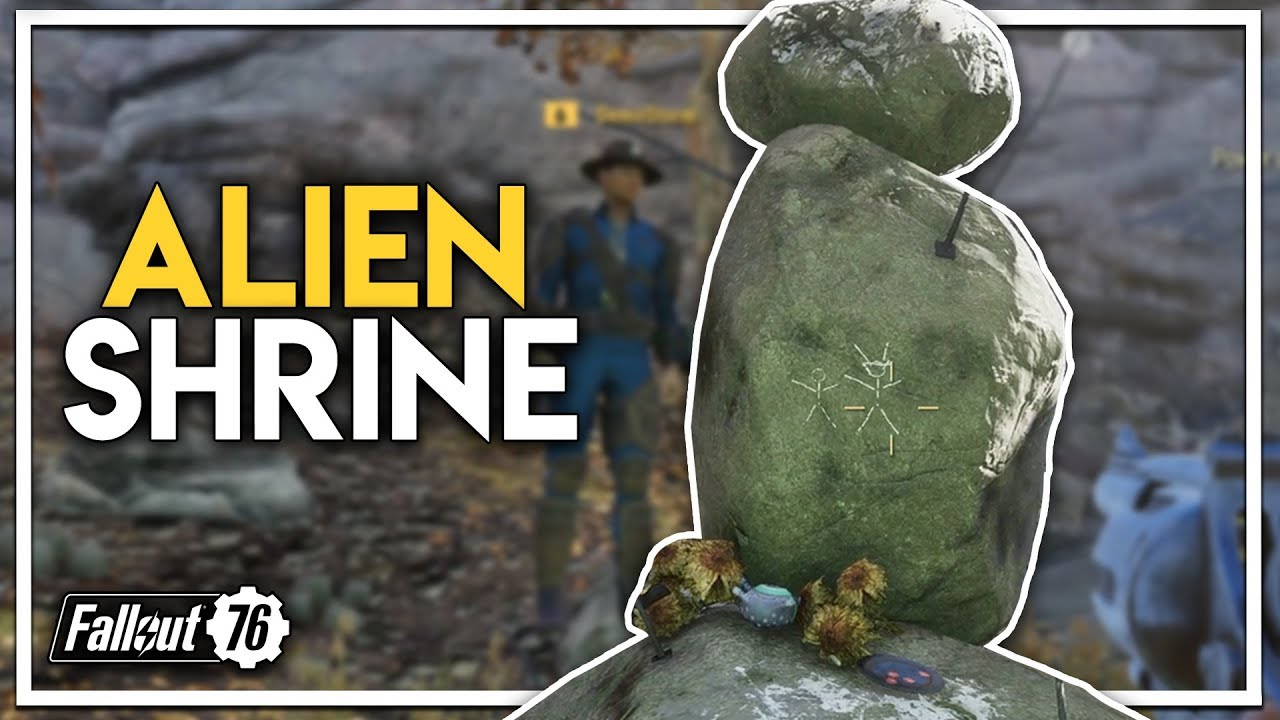 We Found an ALIEN Statue/Shrine?! (Fallout 76 PC Gameplay Part 2)