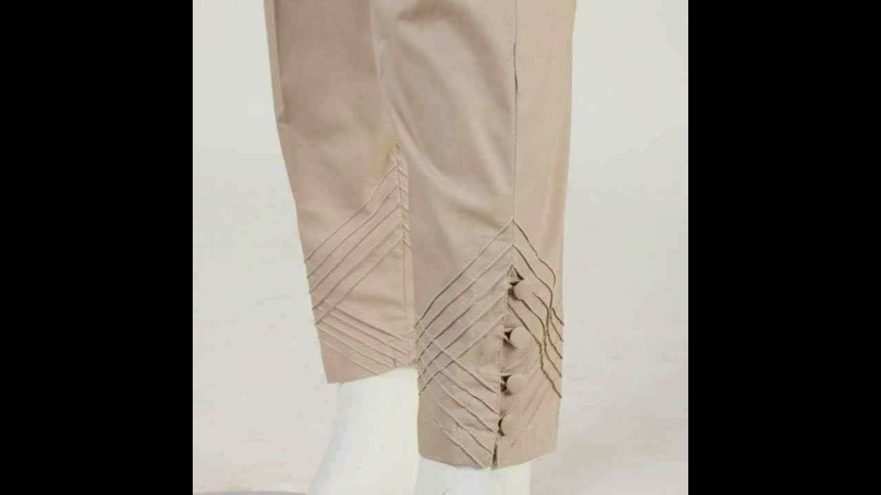 how to make simple trousers