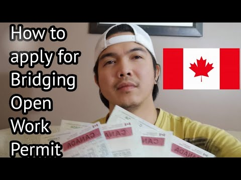 How To Apply For Bridging Open Work Permit