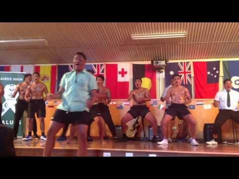 Fijian, Tongan, Samoa and Maori HAKA - AHS Flag Day 2014