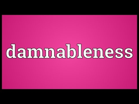 Header of damnableness